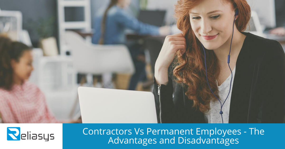 Contractors Vs Permanent Employees - The Advantages and Disadvantages