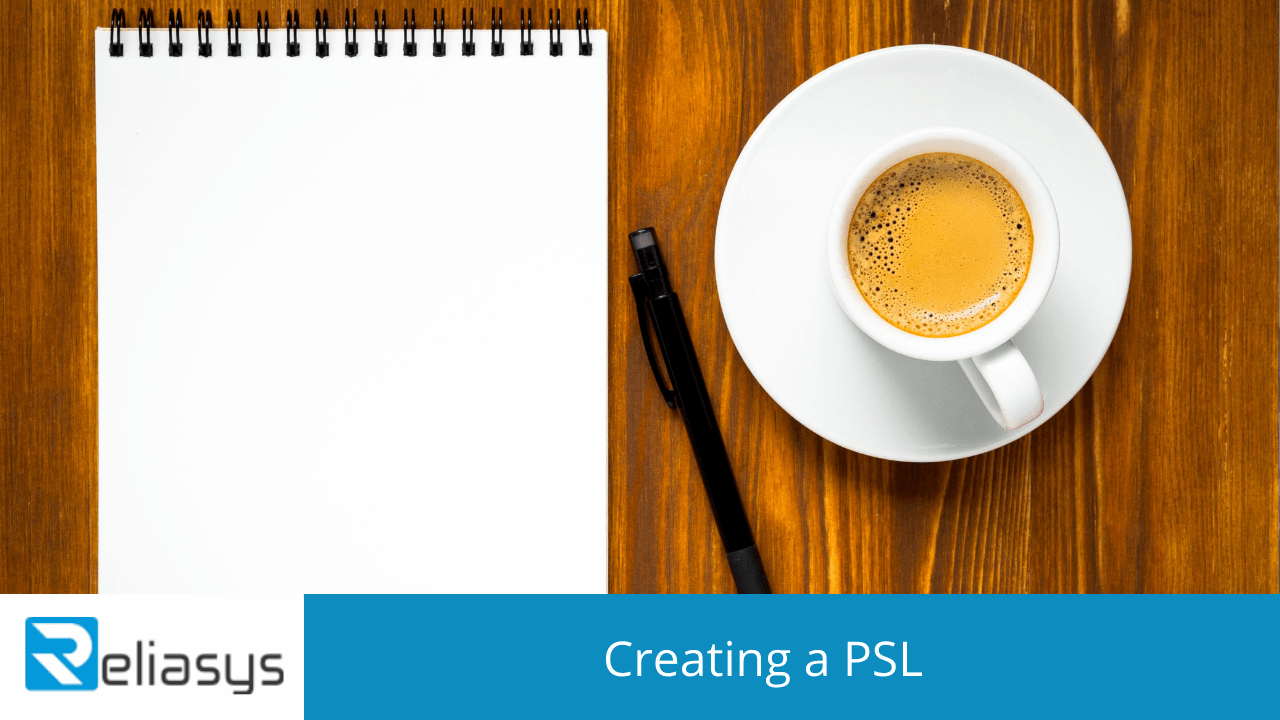Creating a PSL
